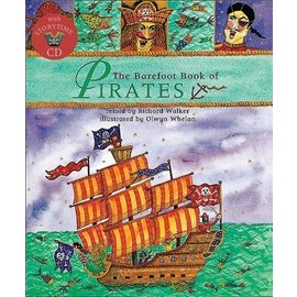 Barefoot Books Barefoot Book of Pirates w/CD
