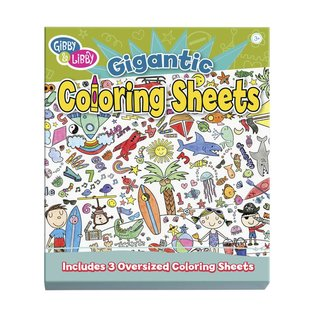 Gibby & Libby Gigantic Coloring Sheets: Let the Coloring Begin
