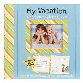 Erynn Rice My Vacation Keepsake Coloring Book