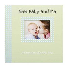 Erynn Rice New Baby & Me Keepsake Coloring Book
