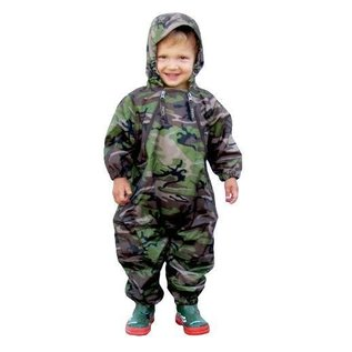 Tuffo Muddy Buddy Waterproof Coveralls/Rainsuit - Camo
