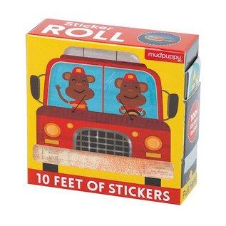 Mudpuppy 10 Feet Sticker Roll