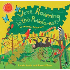 Barefoot Books We're Roaming in the Rainforest w/CD