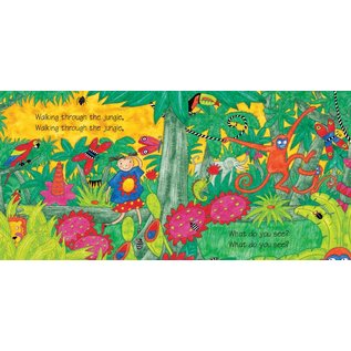 Barefoot Books Walking Through the Jungle w/CD