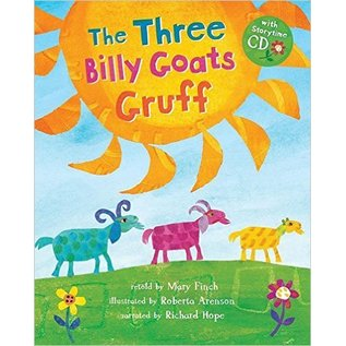 Barefoot Books Three Billy Goats w/CD