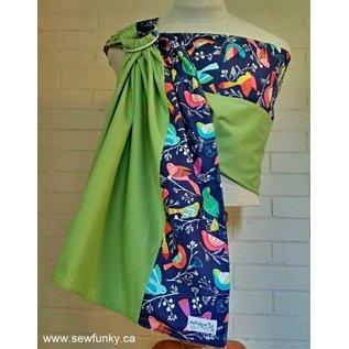 Sewfunky Sewfunky Ring Sling Designer Organic Cotton