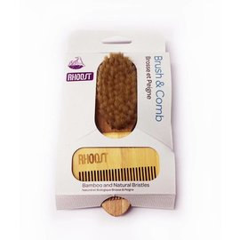 COMOTOMO Rhoost Baby Brush & Comb Set