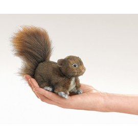 Folkmanis Red Squirrel Finger Puppet