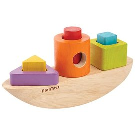PlanToys Plan Toys Sorting Boat