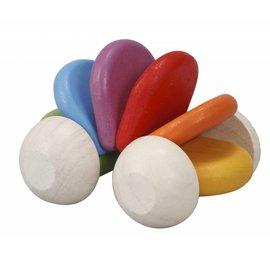 PlanToys Plan Toys Baby Car Rainbow