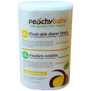 Peachy Baby Peachy Baby Flushable Liners