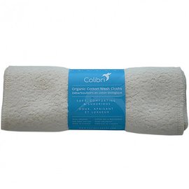 Colibri Organic Cotton Sherpa Washcloths