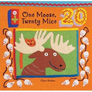 Barefoot Books One Moose, Twenty Mice