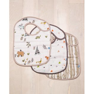 Little Unicorn Little Unicorn Classic Bib 3 Pack