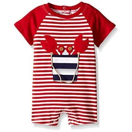 Mud Pie Mud Pie Crab Raglan 1pc