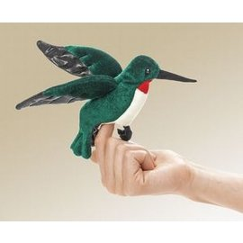 Folkmanis Hummingbird Finger Puppet