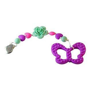 Footsie Teether Gumball Butterfly Teether