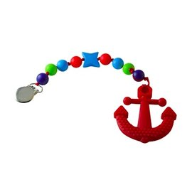 Footsie Teether Gumball Anchor Teether