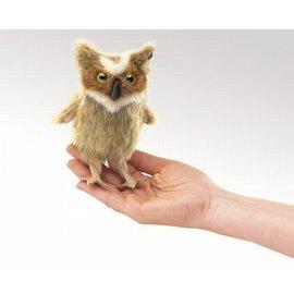 Folkmanis Great Horned Owl Finger Puppet