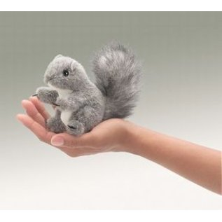 Folkmanis Gray Squirrel Finger Puppet