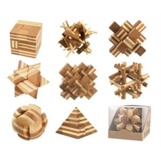 Eco Game Eco Game Assorted Bamboo Puzzles