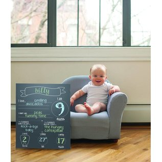 Pearhead Chalkboard Photo Background