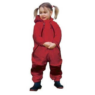 Tuffo Muddy Buddy Waterproof Coveralls/Rainsuit - Red