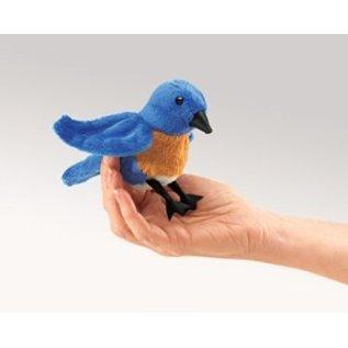 Folkmanis Bluebird Finger Puppet