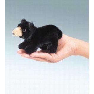 Folkmanis Black Bear Finger Puppet