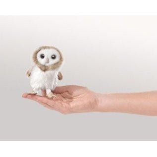 Folkmanis Barn Owl Finger Puppet