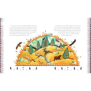 Barefoot Books Barefoot Book of Animal Tales w/CD
