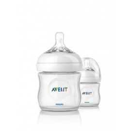 Phillips Avent Natural Bottle 4oz - 2 Pack