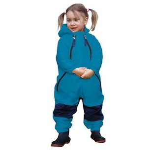 Tuffo Muddy Buddy Waterproof Coveralls/Rainsuit - Blue