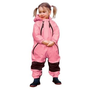 Tuffo Muddy Buddy Waterproof Coveralls/Rainsuit - Pink