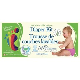 AMP Diapers AMP Diaper Kit- Bamboo