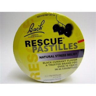 Bach Bach's Rescue Remedy Pastilles Black Currant