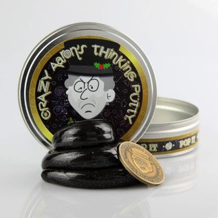 Crazy Aaron's Thinking Putty Bah Humbug Putty with Coin