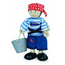 Le Toy Van Pirate Boy Budkin