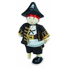 Le Toy Van Wooden Leg Captain Budkin
