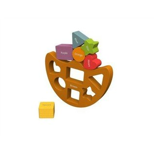 Beginagain Balance Boat Shapes & Colours
