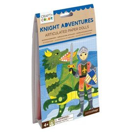 Petit Collage Knight Adventures Paper Dolls