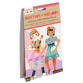 Petit Collage Rhythm & Melody Paper Dolls