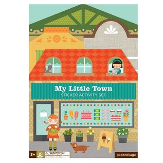 Petit Collage My Little Town Sticker Activity Set