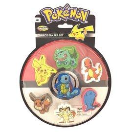 Just For Laughs Pokemon Eraser 7-pack