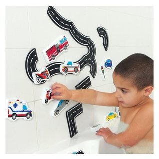Edushape Traffic Fun Magic Creations Bath Toy