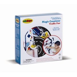 Edushape Traffic Fun Magic Creations Bath Toy