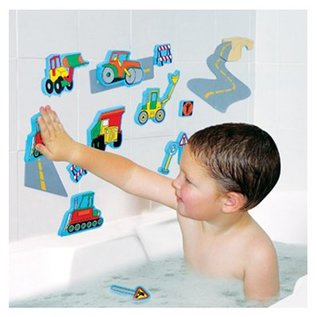 Edushape Road Construction Magic Creations Bath Toy