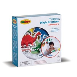 Edushape Dinosaurs Magic Creations Bath Toy