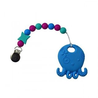 Footsie Teether Gumball Octopus Teether