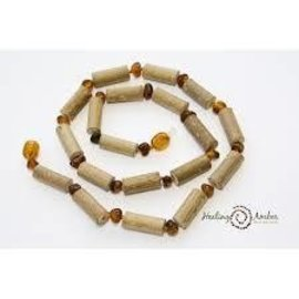 Healing Amber Healing Amber & Hazelwood Necklace